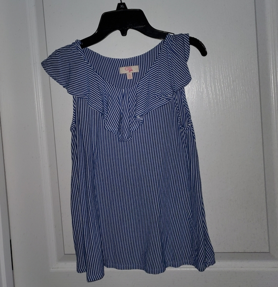 GB girls Other - Blue and White Stripped Shirt